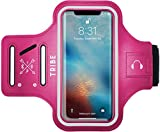 TRIBE Water Resistant Cell Phone Armband for iPhone 8, 7, 7S, 6, 6S
