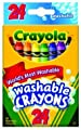Crayola Washable Crayons, 24 count (52-6924) | Computers