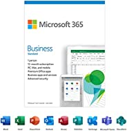 Microsoft 365 Business Standard | Premium Office apps | 12-Month Subscription, 1 person | PC/Mac Keycard
