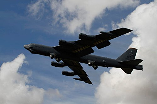 Posterazzi Poster Print Collection a B-52 Stratofortress Heavy Bomber of the US Air Force Ofer Zidon/Stocktrek Images, (17 x 11), Multicolored