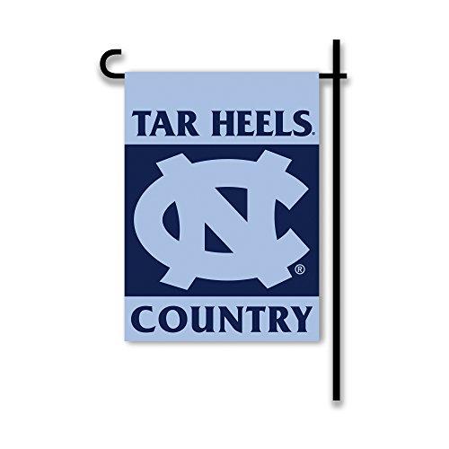 NCAA North Carolina Tar Heels 2-Sided Country Garden Flag, One Size, Team (Bsi North Carolina Tar Heels)