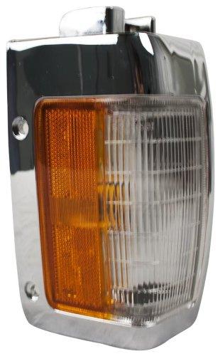 Pickup Side Marker Assembly - OE Replacement Nissan/Datsun Pickup Front Driver Side Marker Light Assembly (Partslink Number NI2550107)