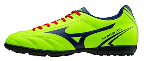 Mizuno Chaussures Football Officials 2015/2016 Monarcida AS P1GD152437 Lime Navy Taille 43