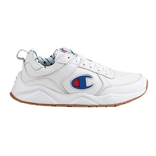 (Champion Men's 93Eighteen Big C White Leather 13 M US)
