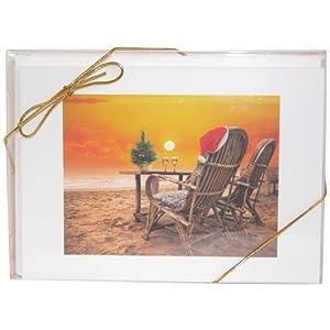 41kIKnTIM4L._SS300_ Beach Christmas Cards and Nautical Christmas Cards