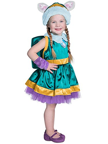 Princess Paradise Child's Paw Patrol Costume,Everest,X-Small