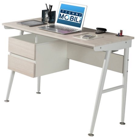 Techni Mobili Hasley Student Desk with 3-Port USB and Storag
