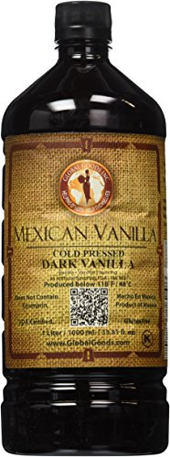 Mexican Vanilla Dark Cold Pressed 1 Liter / 33.8 Oz