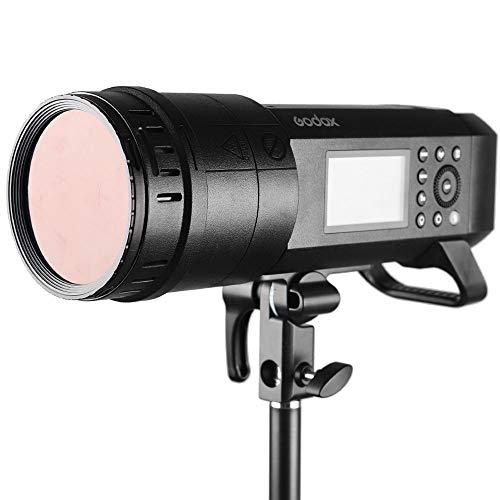 Godox BD-08 Barn Door Kit Include Honeycomb Grid and 4 Color Gels Filters Compatible with Godox AD400Pro Studio Flash Speedlite by Godox (Image #6)