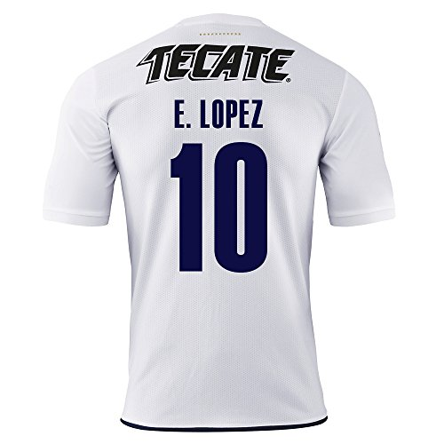 Puma E. Lopez #10 Chivas Guadalajara Away Soccer Jersey 2016/17 (S)