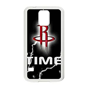 Houston Rockets NBA White Phone Case for Samsung Galaxy S5 Case