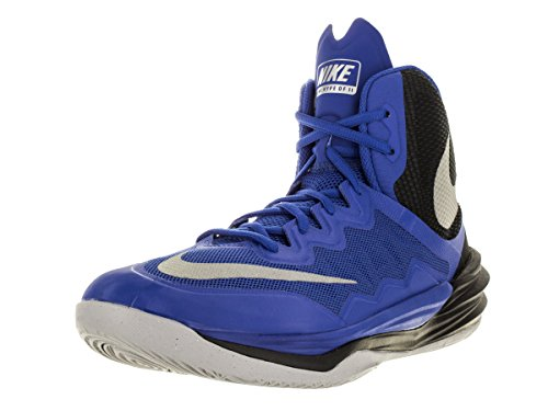 Mens Nike Prime Hype DF II Basketball Shoe Royal/Black/Reflect Silver Size 10.5 M US (Shoes Basket Ball Nike compare prices)