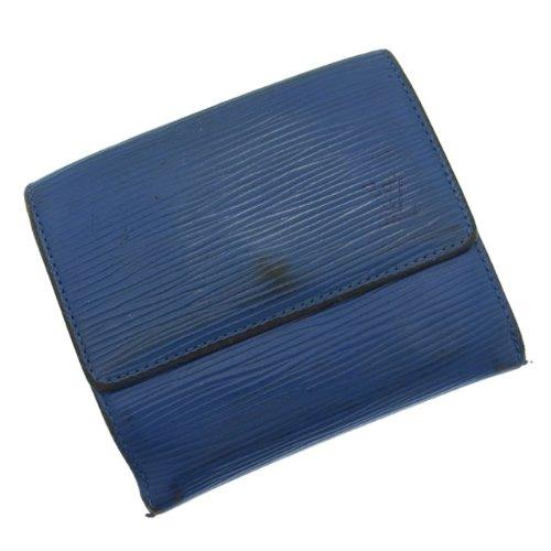 ルイ・ヴィトン Wホック財布 エピ ポルト モネ・ビエ カルト クレディ M63485 トレド・ブルー