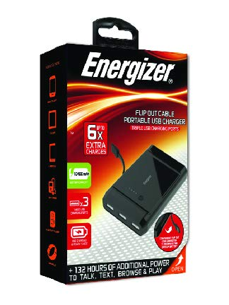buy popular 3697f 1c3c9 Premier Energizer 2600 mAh Portable Backup Battery