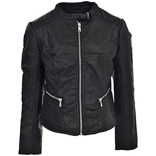 Zip Front Moto Jacket - 7