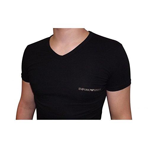 Emporio Armani - Te-shirt Emporio Armani - 4P725 110810 Noir - XL, Noir