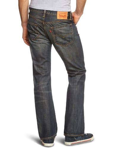 Cut 527 Azul Jeans Boot Dusty Black Levi's 0015 Hombre para Slim xFTd1qwC