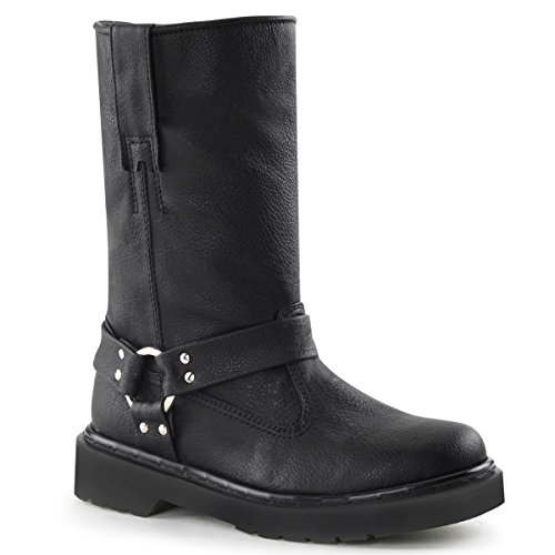 Demonia Rival-303 Donna Boot Blk Vegan Leather