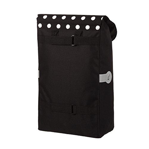 Original Andersen Scala Shopper Plus mit Tasche Elba schwarz