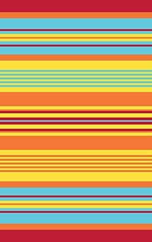 5u0027x7u0027 Reversible Indoor Outdoor Stripe Rug Patio Beach Rv Mat 20332