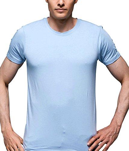 Modal Short Sleeve Crewneck T-shirt - 7