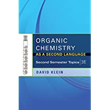 Amazon david r klein books organic chemistry as a second language second semester topics fandeluxe Images