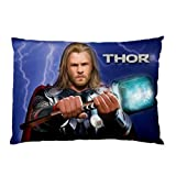 Custom Hot New Thor Movie Pillow Case Cover Bedding Pillowcases 20''x30'' Two Sides Pillow Case Cushion Case Cover