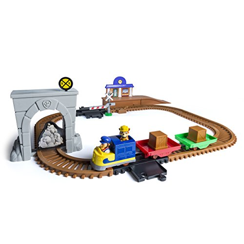 Paw Patrol, Adventure Bay Railway Track Set with Exclusive Vehicle, by Spin Master from Paw Patrol