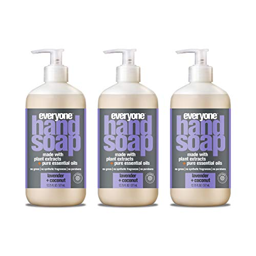 Extract Pump Skin Refill Moisturizer - Everyone Hand Soap, Lavender and Coconut, 12.75 Fl Oz, Pack of 3
