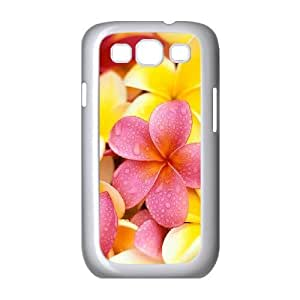Red Hawaii Flower Unique Design Cover Case for Samsung Galaxy S3 I9300,custom case cover ygtg605844