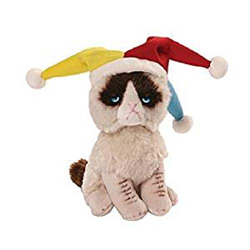 (Gund Grumpy Cat Jester Beanbag Stuffed Animal Plush by)