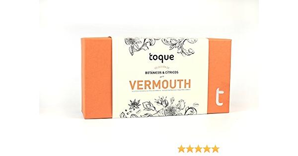 Toque Kit 6 botánicos para Vermouth estuche premium con ingredientes, instrucciones y herramienta profesional - 77 g