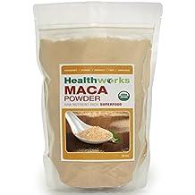 Healthworks Maca Powder Raw Organic, 8 Ounce