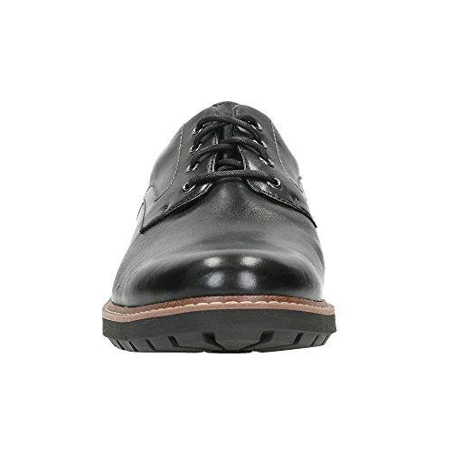 Homme Noir Batcombe Hall Clarks Richelieu Noir n4qtwWn07