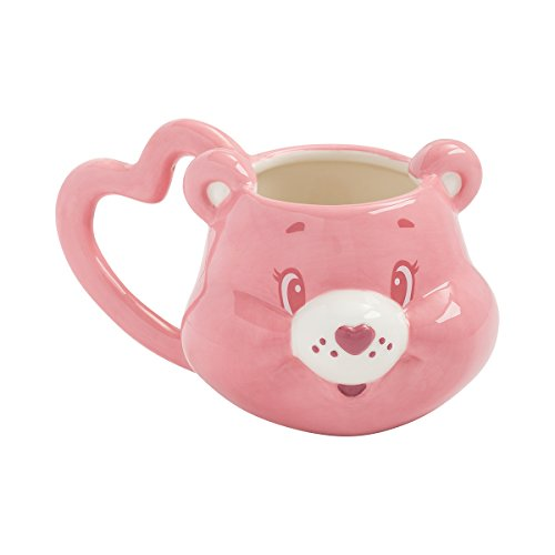 Care Bears Mug - Vandor 29001 Care Cheer Bear Sculpted Ceramic Mug