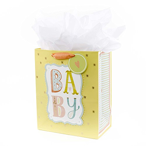 Hallmark Large Gift Bag with Tissue (B-A-B-Y)