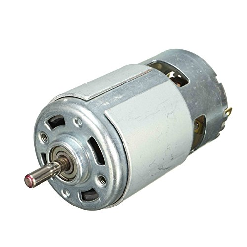 CoCocina DC 12V 150W 13000rpm Micro DC Motor 5mm Shaft Motor