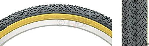 Kenda K55 Street BMX Tire 20x1.75 Black/Tan Steel