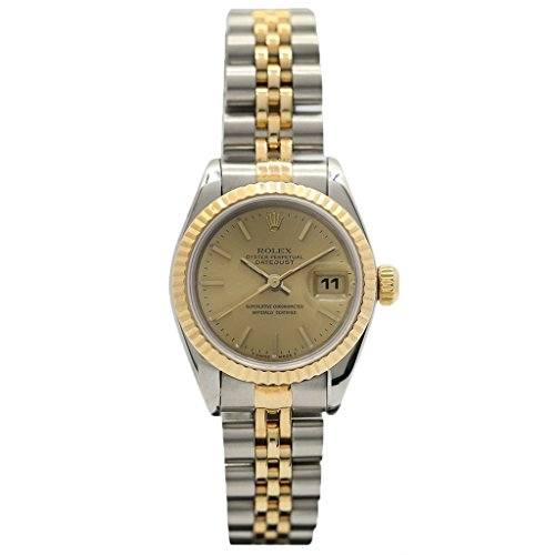 Rolex Oyster Perpetual Datejust 26MM 18KT Yellow Gold and Steel 69173-Certified Pre-Owned