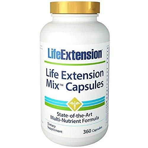 Life Extension Mix Capsules 360 capsules, 3 Pack