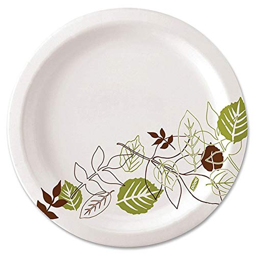 Dixie Ultra SXP9PATH Pathways Wise Size Heavy Weight Paper Plate, 8.5