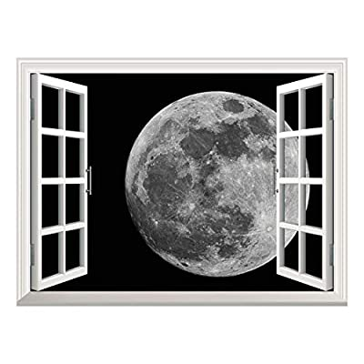 Removable Wall Sticker Wall Mural ( Full Moon)...