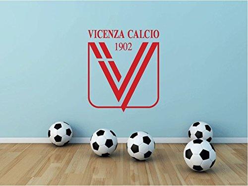 Vicenza Calcio FC Italy Soccer Football Sport Art Wall Decor Sticker 25'' X 21'' by postteam