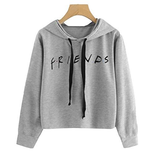 Friend Prints, Hoodie Pullover, Harajuku T-Shirt, Damenbekleidung, Herbst