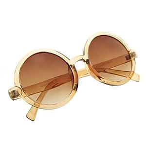 zeroUV - Cute Mod-era Vintage Inspired Round Circle Sunglasses