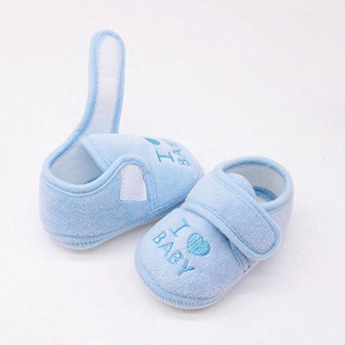 PLOT Newborn Baby Girls Boys Soft Soled Loving Clothing Footwear Crib Shoes 0-18 M