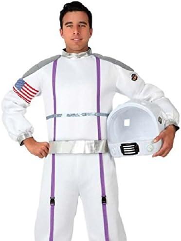 Karnival M blanc 82089 D/éguisement d/'astronaute pour homme