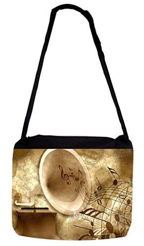 Turntable Messenger Bag - 4