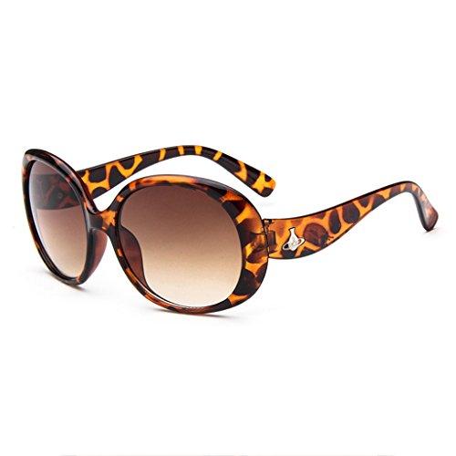 Sol Children Gafas Protección 100 de print UV PC Color Brown Clásica Moda Kids de Leopard Frame Unisex Gafas Moolo ntxvOqfq