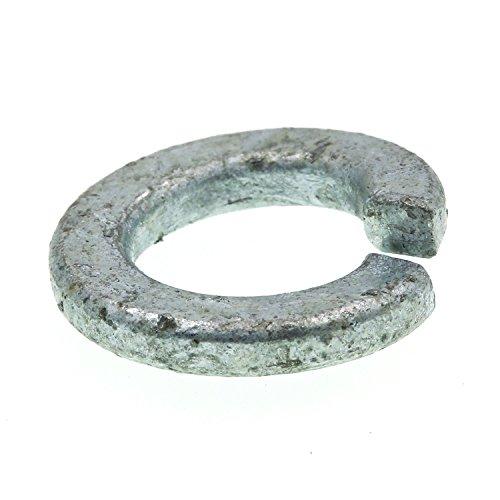 Prime-Line 9082383 Medium Split Lock Washers, 1/2 in., Hot Dip Galvanized Steel, 50-Pack